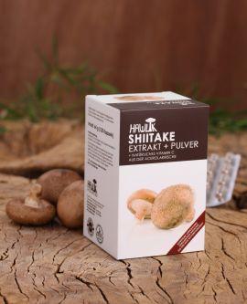 Shiitake Extrakt + Pulver
