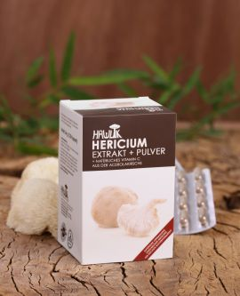 Hericium Extrakt + Pulver
